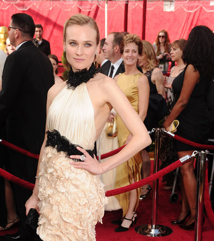 Diane Kruger Chanel dress 2010 Oscars 1