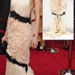 Diane Kruger Chanel dress 2010 Oscars