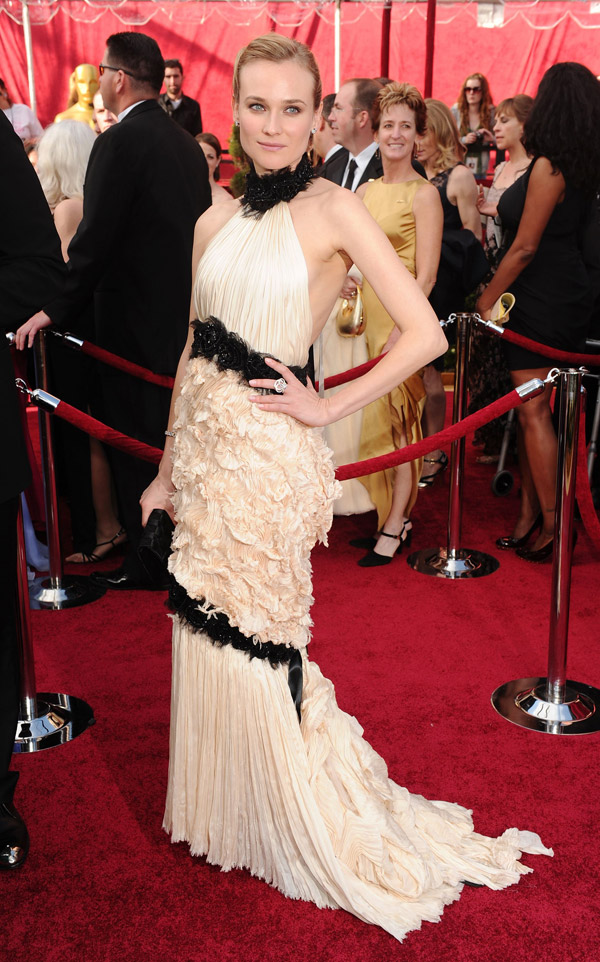 Diane Kruger Chanel dress 2010 Oscars 2