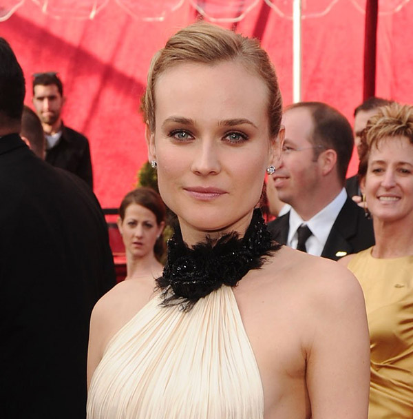 Diane Kruger Chanel dress 2010 Oscars 3