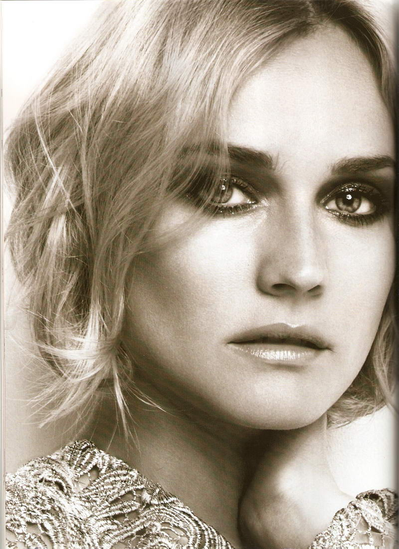 Diane Kruger Instyle Uk September Prada