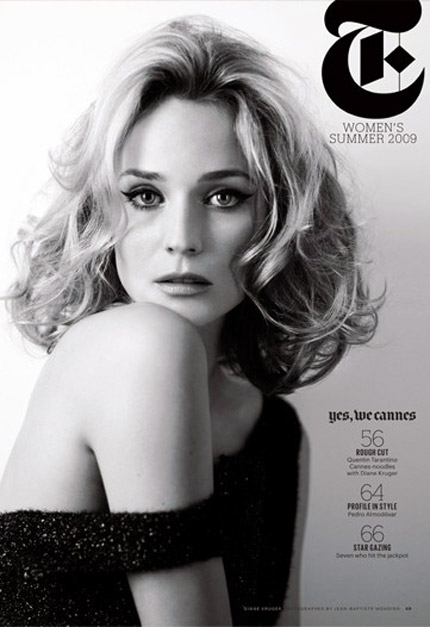 Diane Kruger In NY Times T Magazine Cannes 2009 Issue