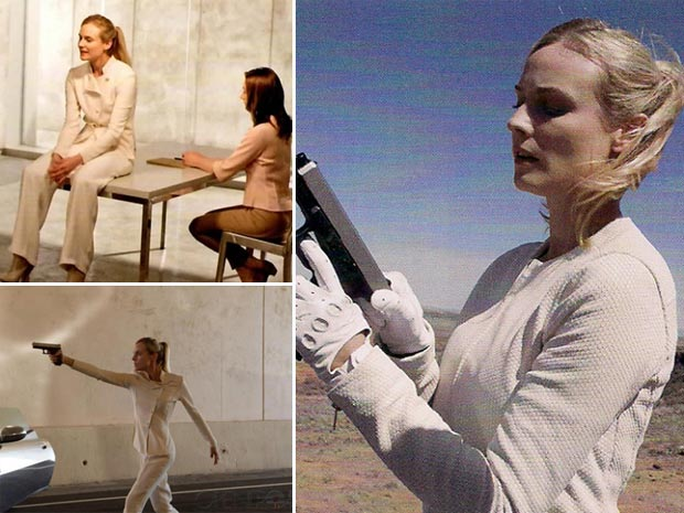 Diane Kruger playing the Seeker The Host
