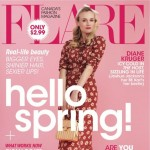 Diane Kruger The Host Flare April 2013 cover