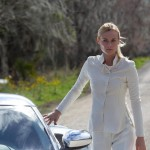 Diane Kruger The Host movie white costume silver car
