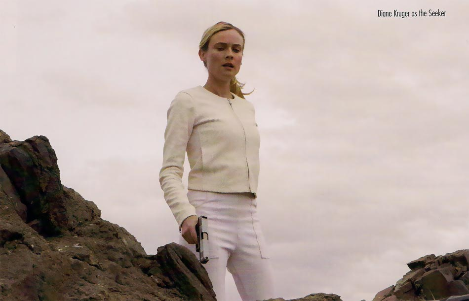 Diane Kruger The Host movie white costume