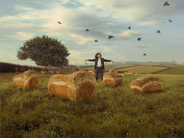 digitally manipulated conceptual photography by Ross Brown