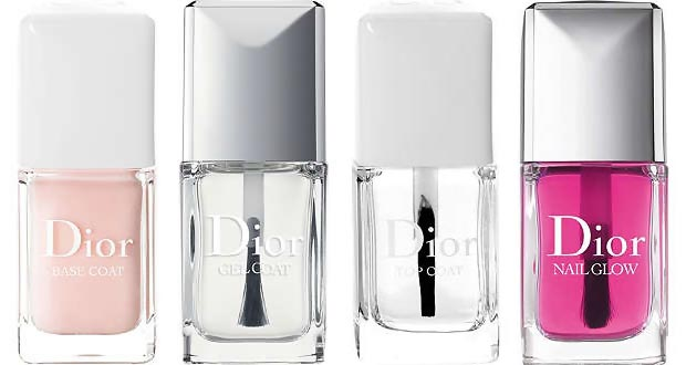 Dior Nail Polish base coat top coats