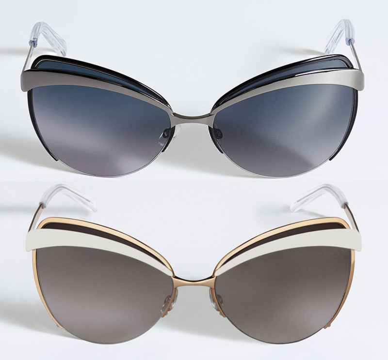 Dior sunglasses eyes 2014