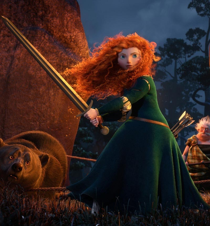 Disney Pixar Brave Merida Princess