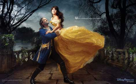 Disney portraits Jeff Bridges Penelope Cruz Annie Leibovitz