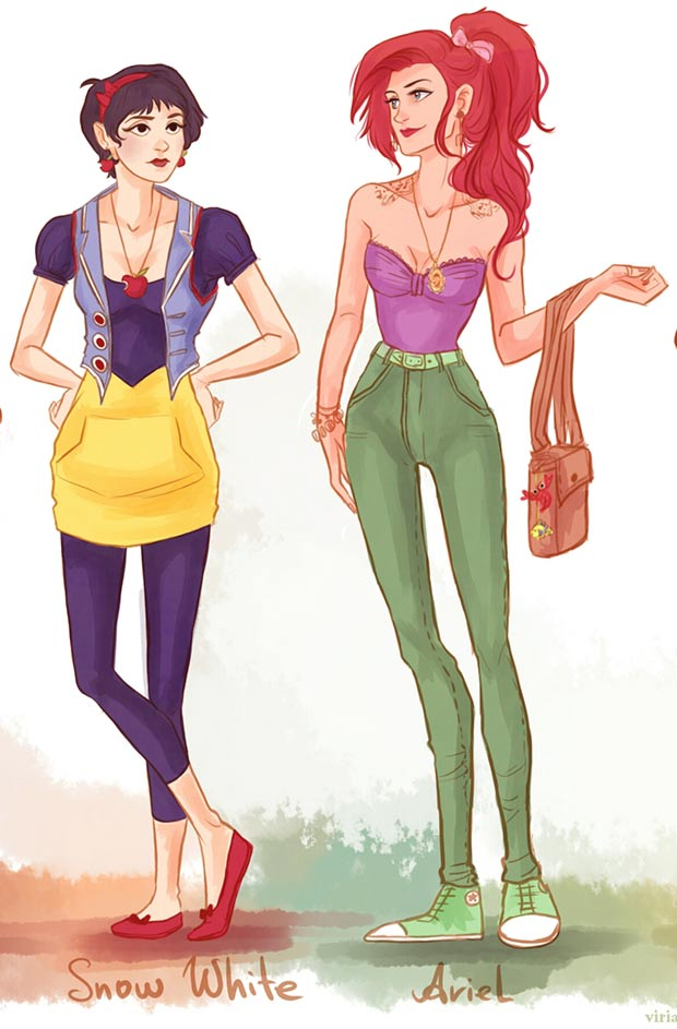 Urban Outfitters Outfits Disney's Princesses - StyleFrizz