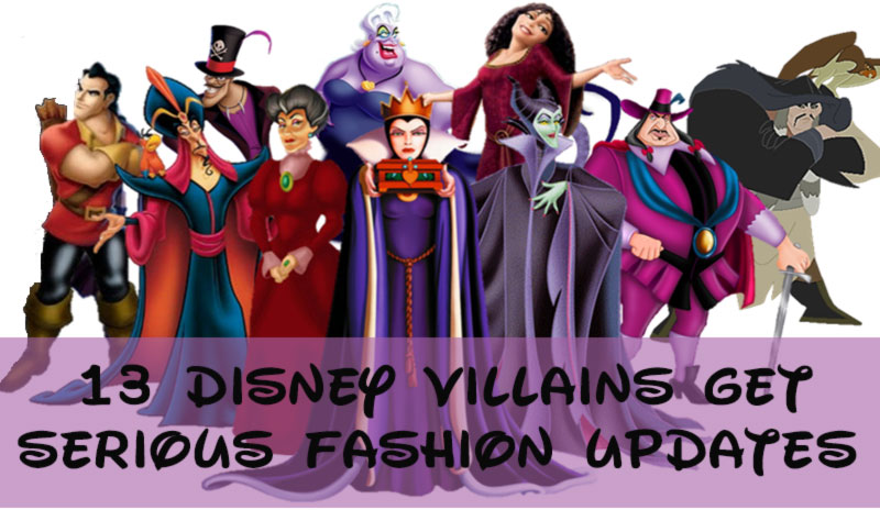 Disney Villain Silhouettes Disney Villains Fashion