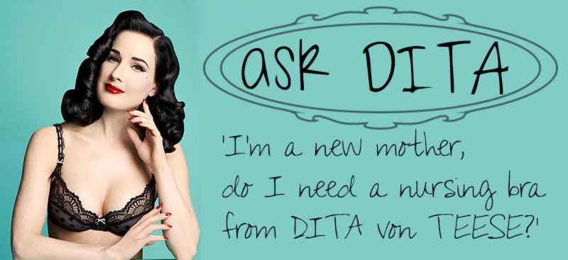 Mothers, Would You Buy Maternity Lingerie From Dita Von Teese?