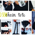 diy chain tote how to