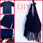 diy no sew bag from tshirt