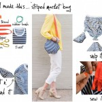 diy zipper shoulder bag from tshirt