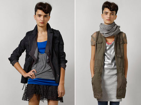 DKNY Jeans Junios Fall Winter 2010 collection
