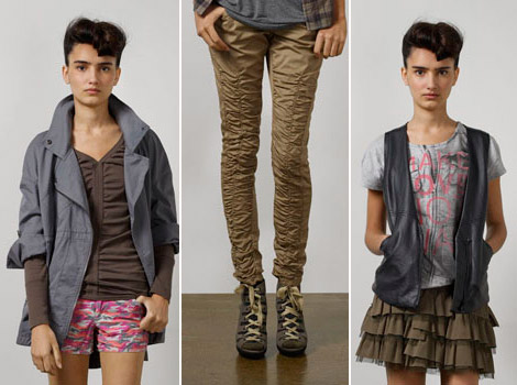 DKNY Jeans Juniors Fall Winter 2010 Collection