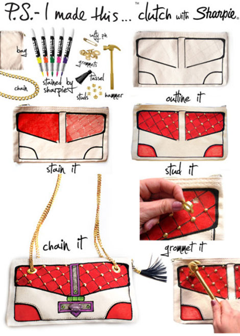 Do It Yourself Bag Sharpie bag