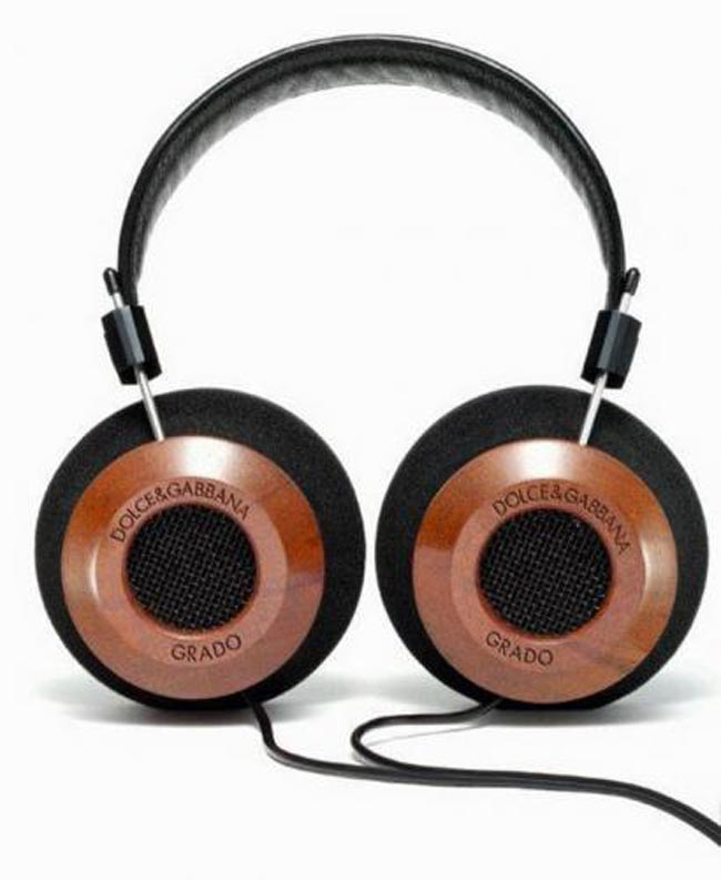 Fashion Music: Dolce & Gabbana Grado Labs Headphones