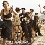 Dolce Gabbana Catherine McNeil Spring Summer 2014 ad campaign