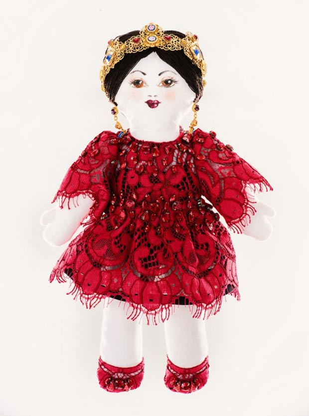 Dolce Gabbana doll for Unicef