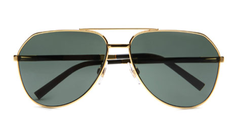 Dolce Gabbana Gold Edition aviators
