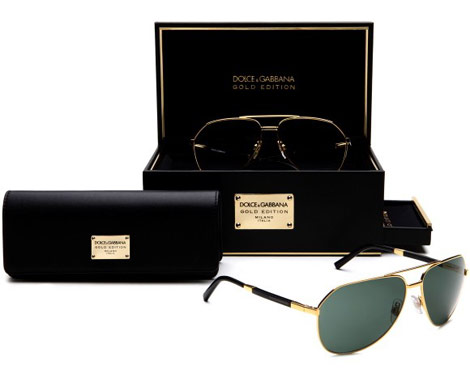 Dolce Gabbana Gold Edition sunglasses