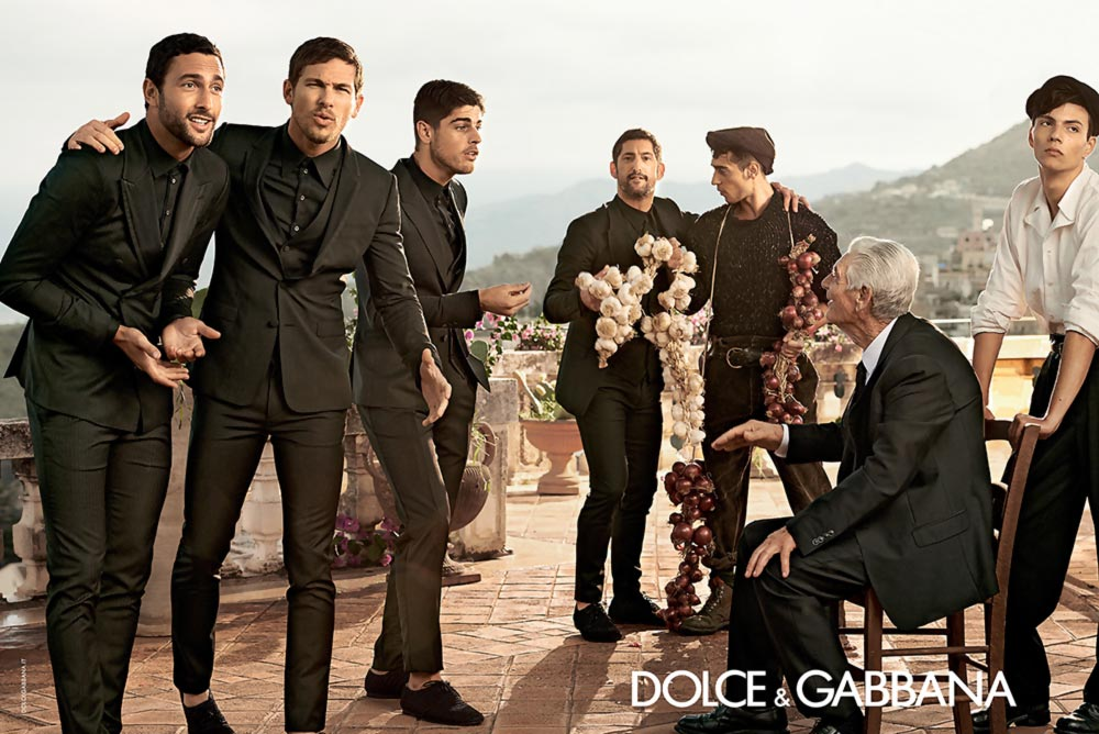 Dolce Gabbana men spring summer 2014 ad campaign