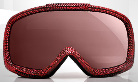 Dolce Gabbana Ski Glasses Swarovski red