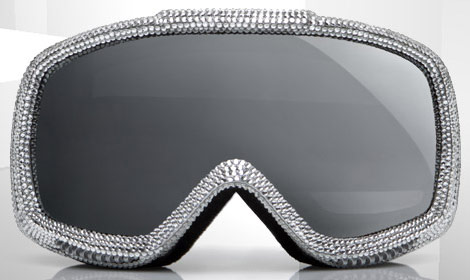 D & G Ski Mask For Glamorous Skiing