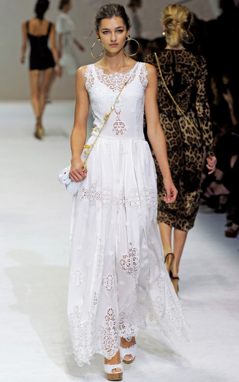 Dolce Gabbana Spring 2011 collection