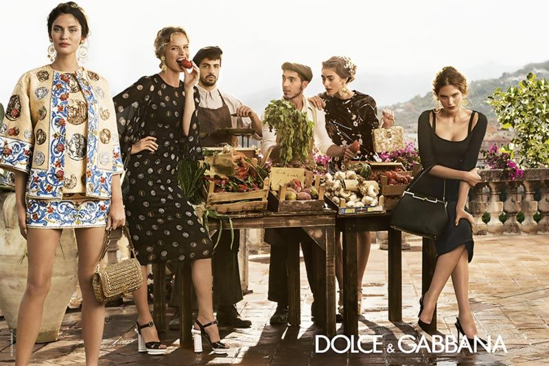 Dolce Gabbana Spring Summer campaign 2014