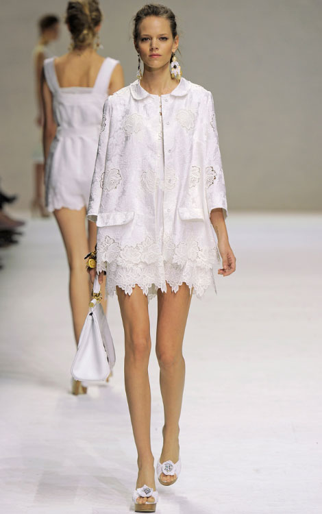 Dolce Gabbana Summer 11 collection