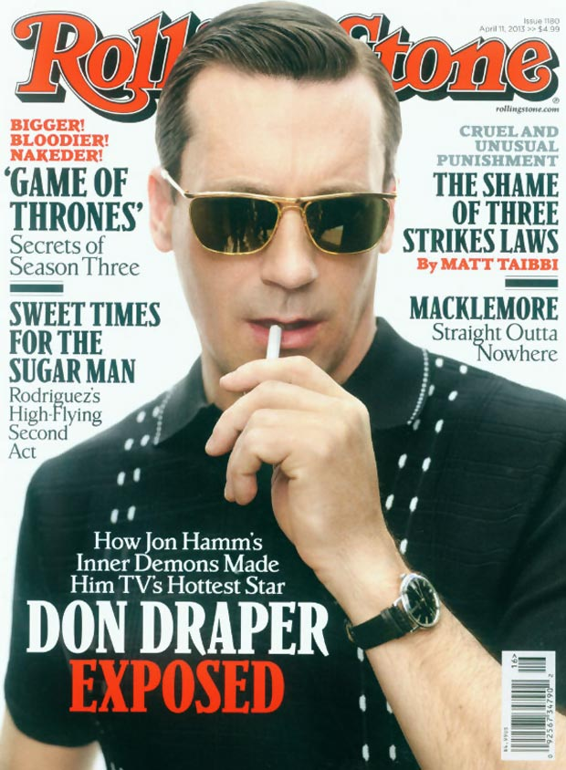Rolling Stone And Mad Men Don Draper Cover