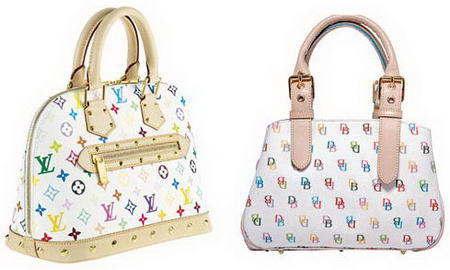 Dooney And Bourke It Bag and Louis Vuitton Monograme Multicolore Bag