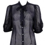 Dotted Swiss blouse forever21