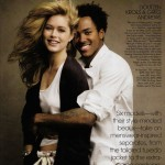 Doutzen Kroes boyfriend Greg Andrews Vogue May09