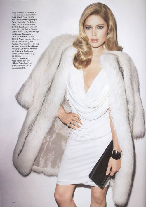 Doutzen Kroes Harper s Bazaar July 2009 1