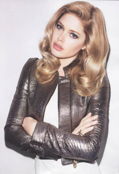 Doutzen Kroes Harper s Bazaar July 2009 2
