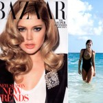 Doutzen Kroes Harper s Bazaar July 2009 cover