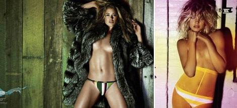 Doutzen Kroes Natalia Vodianova V59 swimsuit