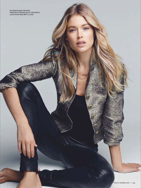 Doutzen Kroes Vogue Nederland December 2012 Patrick Demarchelier