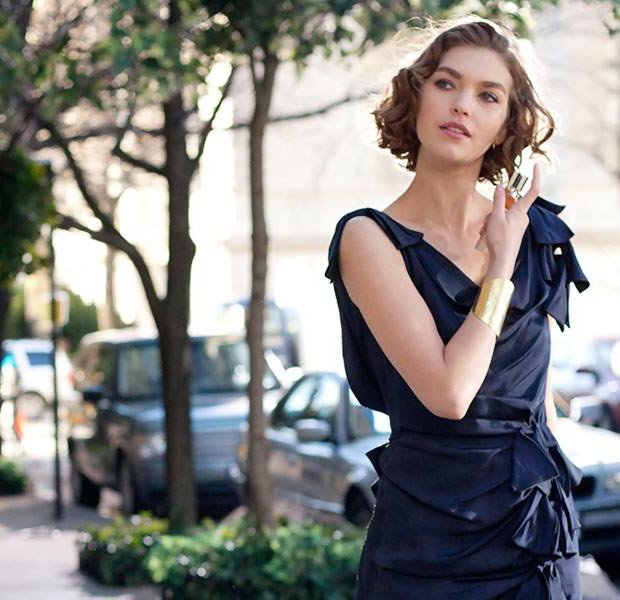 dress from Estee Lauder Modern Muse commercial