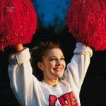Drew Barrymore Pop magazine November animals issue cheerleader
