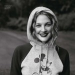 Drew Barrymore Pop magazine November animals issue mickey hood