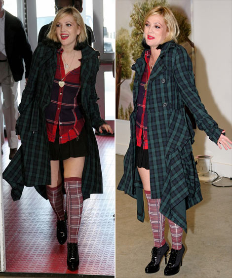 Tartan Ft Cosplay Freaky Friday Outfit