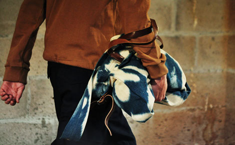 Dries Van Noten men bag colored