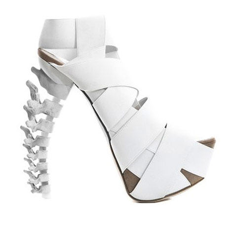 DSquared2 Spine white sandals